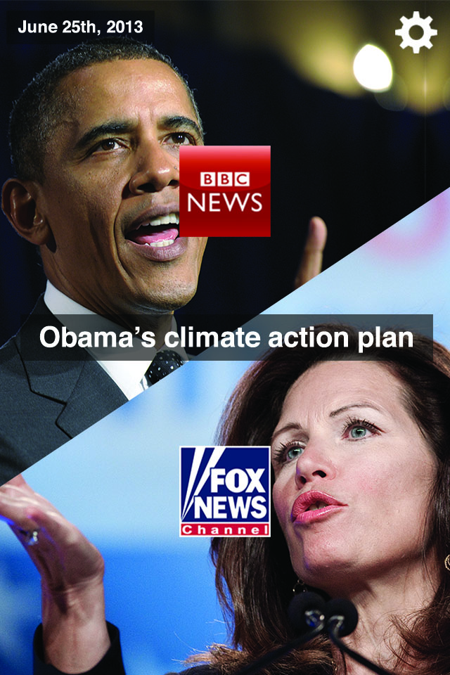 The final concept design of Obama vs. some awful lady on Fox News