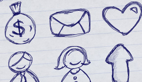 free sketchy icons