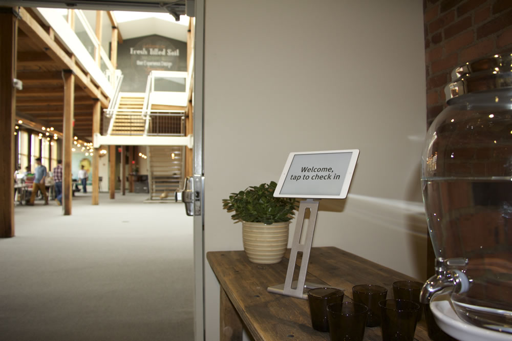 The entryway to the Fresh Tilled Soil office