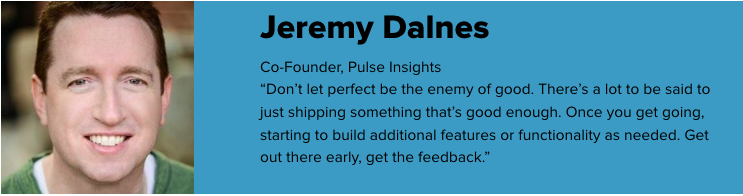 Jeremy Dalnes, Pulse Insights