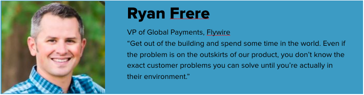 Ryan Frere, Flywire