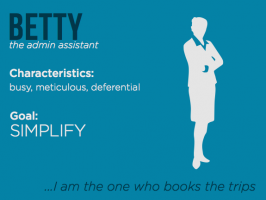 Betty, our administrative assistant persona