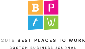 Boston Business Journal Best Places to Work 2016