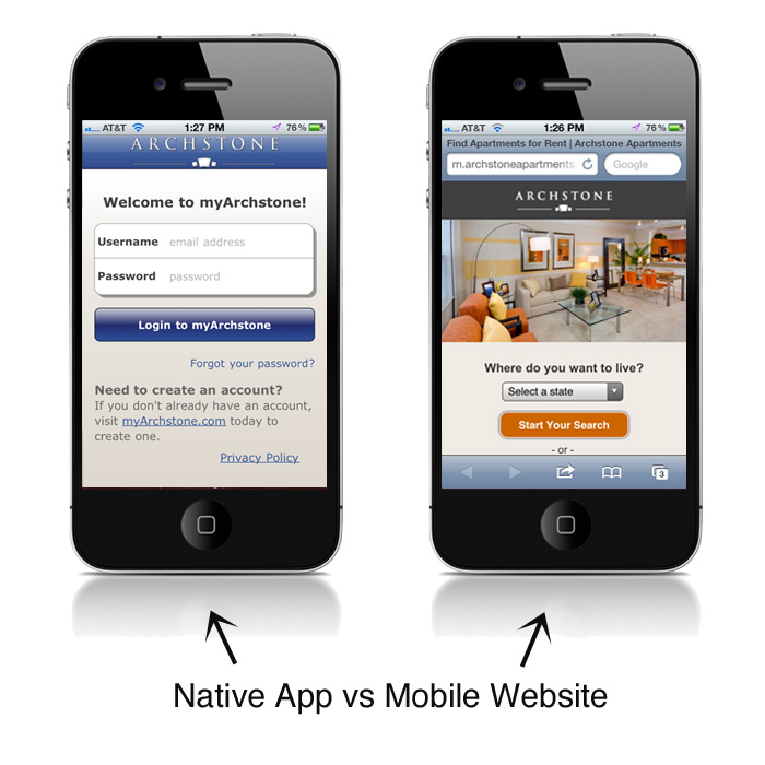 software native mobile apps vs mobile Hybrid vs native mobile apps - feature-wise comparison to help you in choosing the right app for your business.