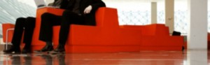The futility of red couches. Ceci n'est pas une pipe.