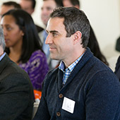 Audience members at the Grapevine Event for Connectors.