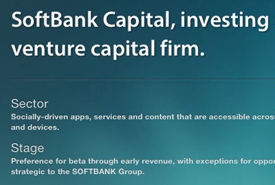 SoftBank Capital portfolio thumbnail